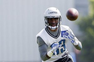 Lions place CB Alex Carter on short term I/R