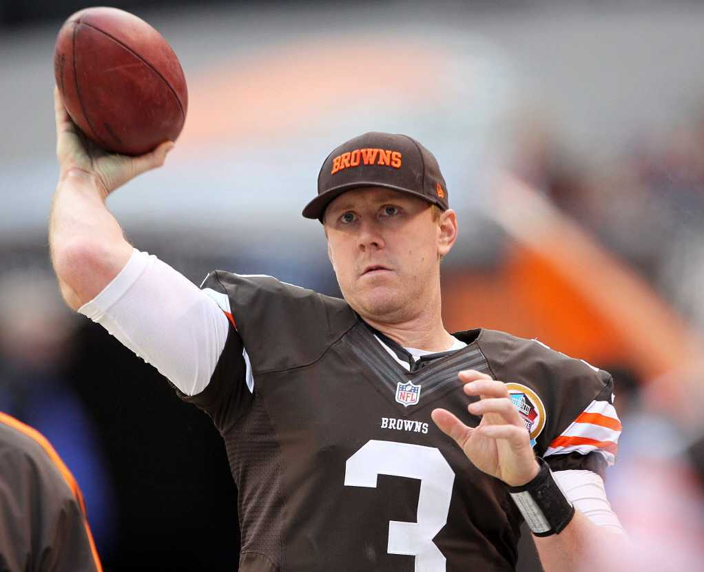 Brandon Weeden has the longest active streak in the NFL for losses in a row with 8