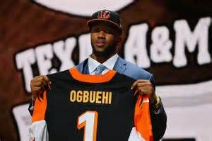 Bengals OT Cedric Ogbuehi was placed on NFI List