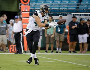 Saints sign former Jaguars tight end Connor Hamlett to their practice squad