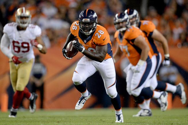 Broncos could ship running back Montee Ball soon
