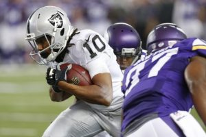 Raiders have received calls about WR Seth Roberts