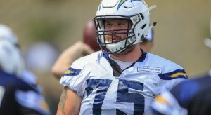 Jeremiah Sirles has been traded to the Vikings