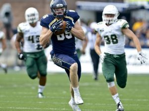 Beau Sandland is one of the top rated small school tight ends of this years draft class