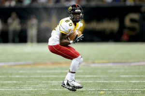 Grambling State wide receiver Chester Rogers has legit NFL speed and great hands. He is an elusive return man as well