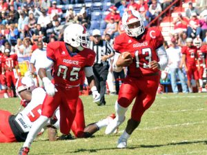 Oklahoma Panhandle State University running back Chris McClendon has NFL potential