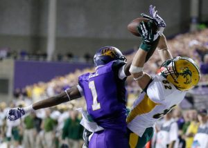 Deiondre Hall of UNI has been meeting with NFL scouts left and right. This kid is special