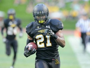 Doug Middleton is a warrior for App. State and he has NFL teams raving about him