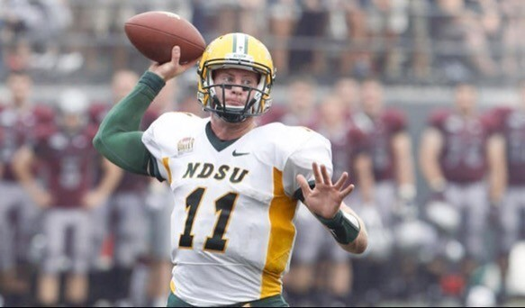 NDSU quarterback Carson Wentz will undergo surgery on his wrist