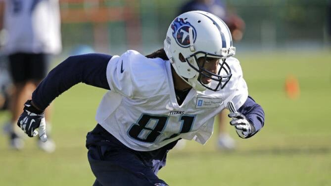 Titans have signed wide out Rico Richardson