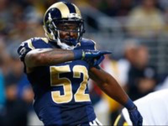 Former Georgia LB Alec Ogletree has been placed on the short term I/R