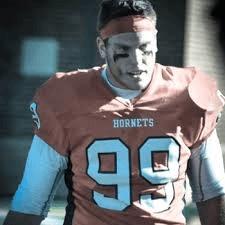 Shenandoah defensive end Jake Payne has a great step.
