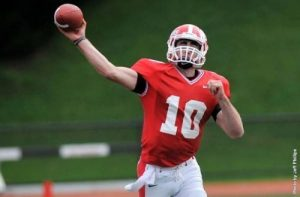 NFL scouts really like the small school quarterback Matt Soltes from East Stroudsburg