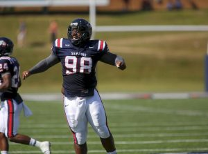 Samford's defensive tackle Michael Pierce is a future NFL player