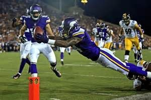 Vikings wide out Stefon Diggs has been impressing his teammates