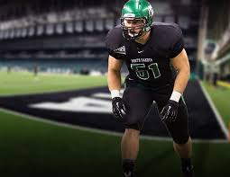North Dakota linebacker Will Ratelle has a motor that never slows down