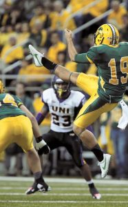 North Dakota State specialist Ben LeCompte is a special player with a Big LEAGUE leg