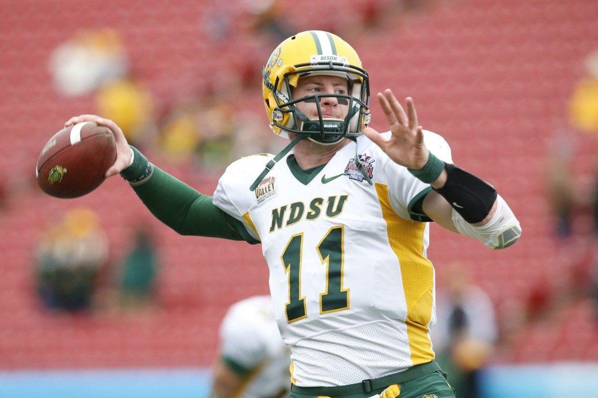 Carson Wentz Throw >> NFL Draft Diamonds Prospect Interview: Carson Wentz, QB, North Dakota State University