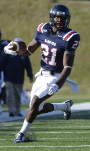 Samford defensive back James Bradberry has great size and speed. He has NFL scouts drooling