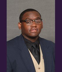 Minnesota Mankato offensive lineman Lawrence Walker is a big boy with a nasty blocking attitude