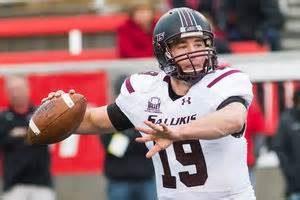 Southern Illinois quarterback Mark Iannoti is a good quarterback