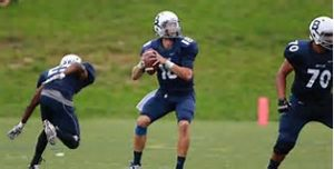 Butler QB Matt Shiltz is a big quarterback with a great arm