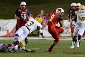 Reggie Begelton of Lamar has NFL big play making skills