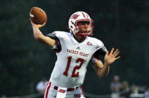 R.J. Noel of Sacred Heart has an NFL caliber arm