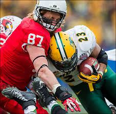 Illinois State defensive end Teddy Corwin is a very humble and fierce competitor.  He is a mirror image of Jared Allen in college