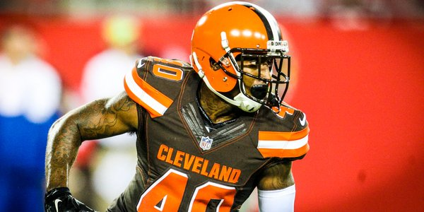 Browns have signed small school cornerback De'Ante Saunders to their active roster