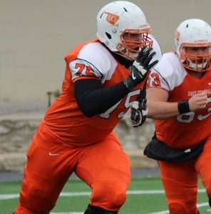 Travis Hening of East Central has NFL abilities