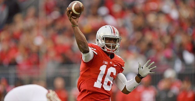 Ohio State takes quarterback J.T. Barrett's scholarship