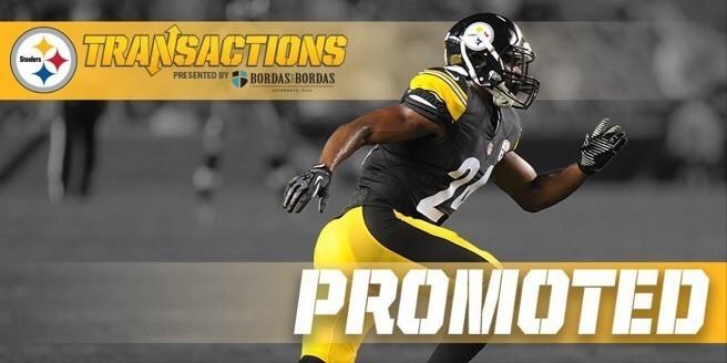 Steelers promote CB Doran Grant
