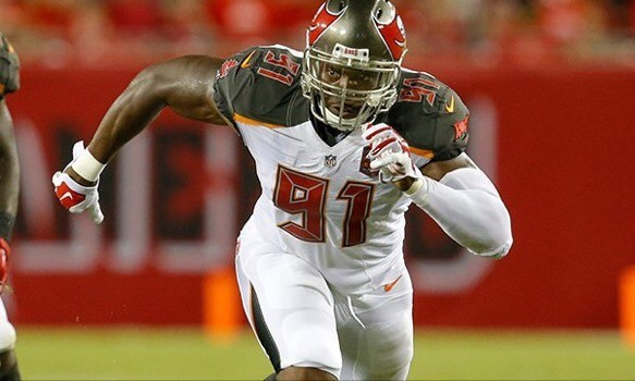 Buccaneers add DE Lawrence Sidbury to their 53 man roster