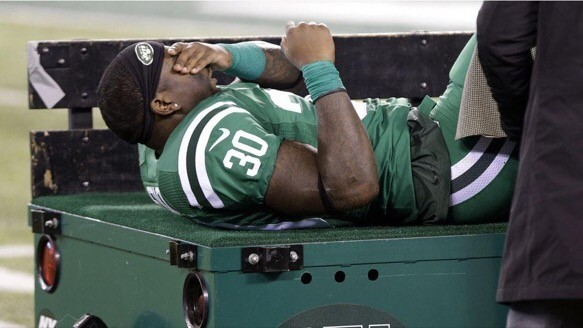 Jets lose running back Zac Stacy for the season