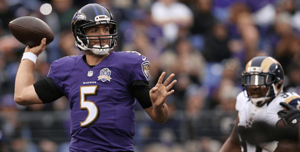 Ravens lose QB Joe Flacco for the year