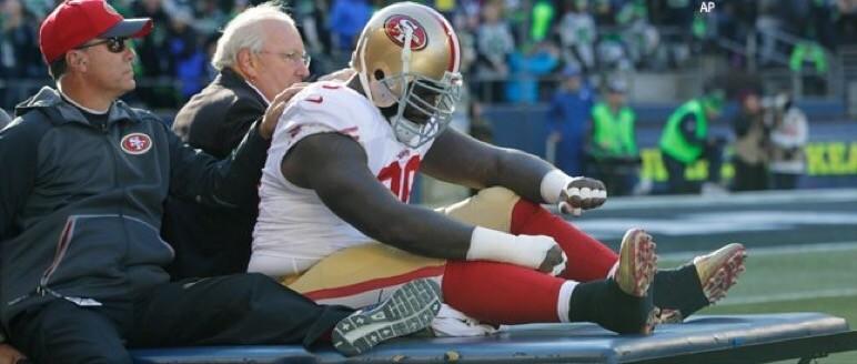 49ers fear the worst for Glenn Dorsey