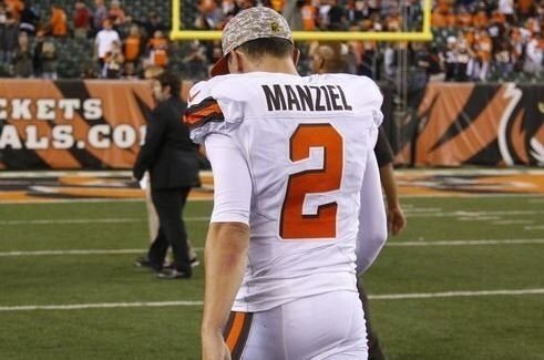 Browns have benched Johnny Manziel but it is because he lied to the staff
