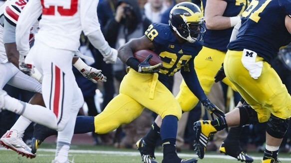 Steelers promote former Michigan running back Fitzgerald Toussaint