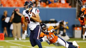 Texans tight end Ryan Griffin helped his team out last night after getting activated
