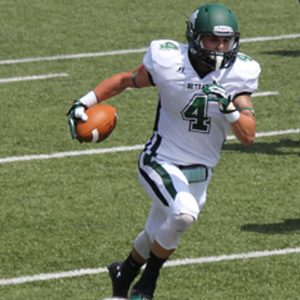 Bethany College wide out Eric Blinn is a good wide out from the D3