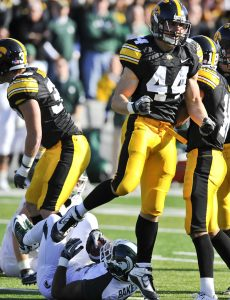 Giants have signed former Iowa linebacker James Morris to their practice squad