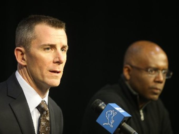 Lions have fired Tom Lewand and Martin Mayhew