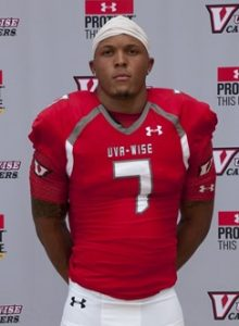 UVA Wise wide out Terrence Younger has been pretty impressive this year