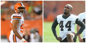 Two Browns players were arrested on Christmas day for speeding