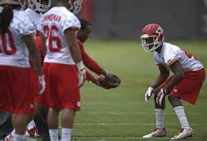 Former Pitt State cornerback De'Vante Bausby has been signed to the Bears practice squad