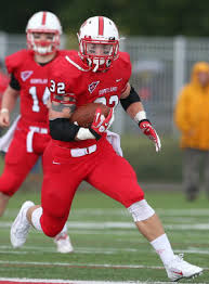 SUNY Cortland running back Dylan Peebles is a hard runner. He is a beast on the ground