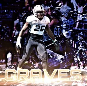 Emmanuel Graves is a feisty backer with good tackling skills