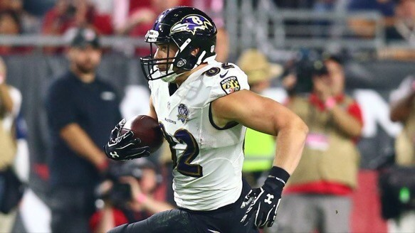 Ravens TE Nick Boyle has been suspended