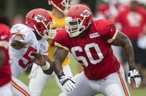 Chiefs have signed offensive lineman Jarrod Pughsley to their active roster